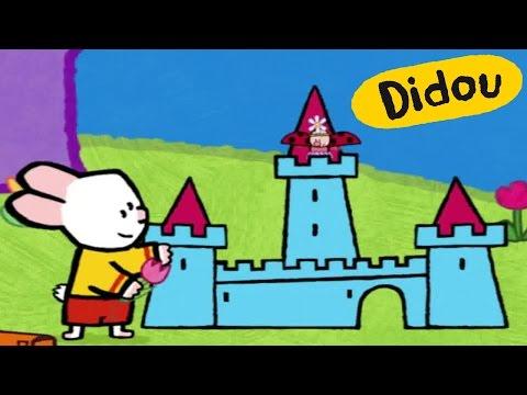 Château - Didou, dessine-moi un château |Dessins animés pour les enfants