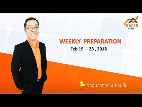 Forex สอน เทรด : 147 - Trading plan Feb 19-23, 2018