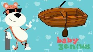 Row Row Row Your Boat | Favorite Children's Nursery Rhymes | Baby Genius