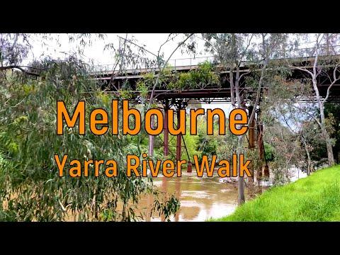 Мельбурн. Прогулка по реке Ярра под музыку
