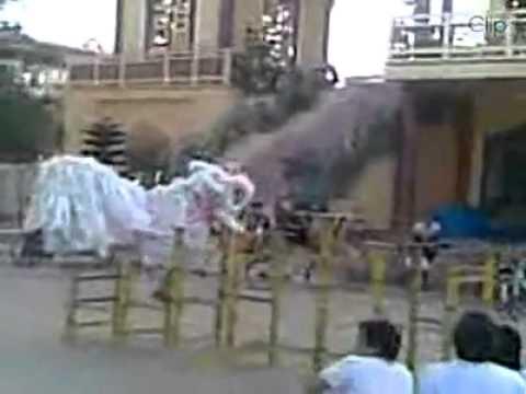 Múa kỳ lân ở Qui Nhơn