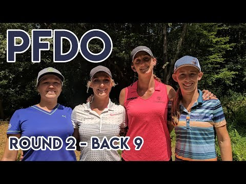 2017 PFDO - Paige Pierce, Cat Allen, Sarah Hokom, Lisa Fajkus - Rnd 2 Back 9