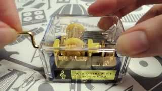 When You Wish Upon A Star - Hurdy Gurdy Music Box