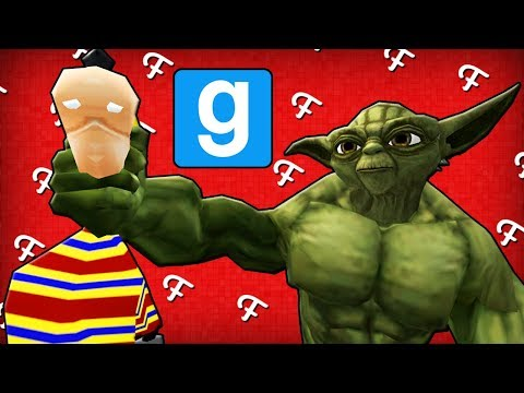 Gmod: Secret Spots & The Incredible Yoda Playermodel! (Garrys Mod Hide & Seek - Comedy Gaming)