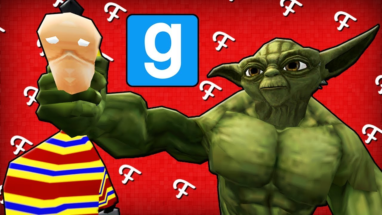 Gmod: Secret Spots & The Incredible Yoda Playermodel! (Garry's Mod Hide &  Seek - Comedy Gaming)