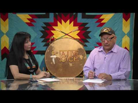 Native Voice TV Richard Charging Eagle  Cheyene River Sioux
