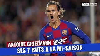 VIDEO: FC Barcelone : Les 7 buts d'Antoine Griezmann à la mi-saison
