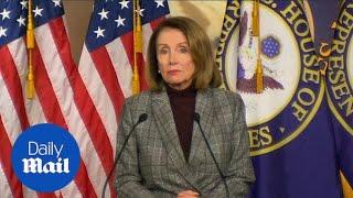 Nancy Pelosi says it is 'strange' that Trump believes in Kim Jong Un