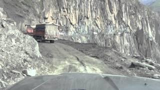 Drive through Zozila Pass