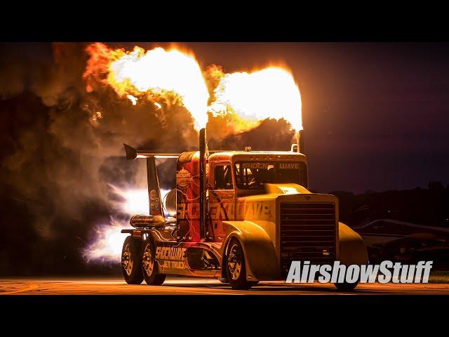 Shockwave Jet Truck Night Show