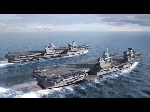 What We Can Expect From Britain's New Carriers | Forces TV