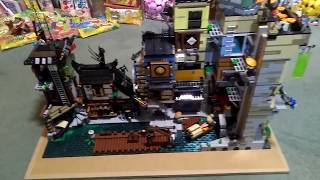 Modifications and add on to my Lego Ninjago city