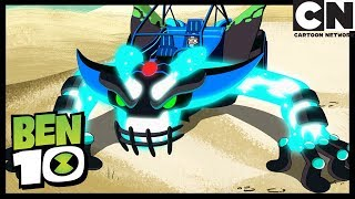 malvado bootleg transforma el rustbuggy franken pelea ben 10 en espaol latino cartoon network