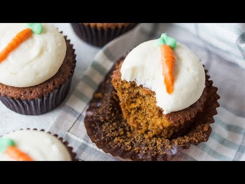 Carrot Cake Cupcakes | Gimme Some Oven