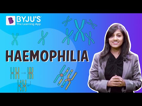 Haemophilia, A disease which reduces the body's ability to make blood clot - Class 11-12