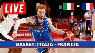ITALIA 75 - 84 FRANCIA  // BASKET TOKYO 2020 OLIMPIADI // LIVE STREAMING //