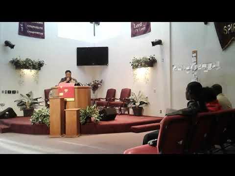 Jenna Bryant's 1st Sermon Part 1