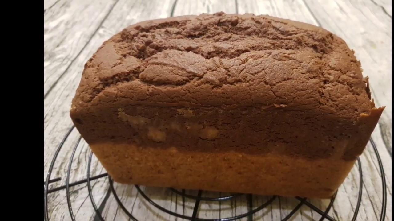 減醣低醣生酮辣木葉黃金亞麻籽蛋糕吐司(再加碼巧克力口味) - YouTube