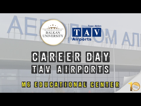 Career Day with TAV Airports Macedonia (February 2017)