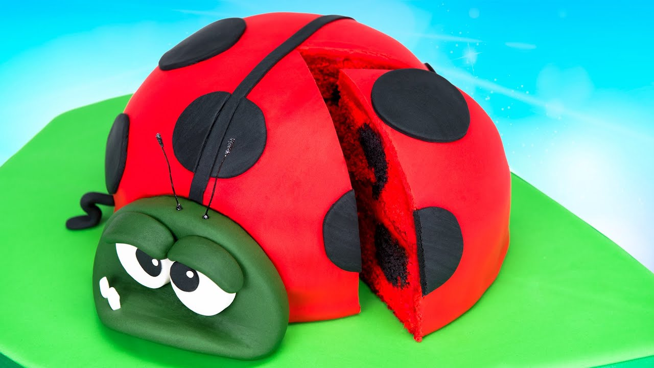 How To Make A Ladybug Cake Bob From Best Fiends