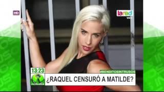 """La supuesta censura de Raquel Argandoña contra Matilde Bonasera en """"El Cubo"""""""