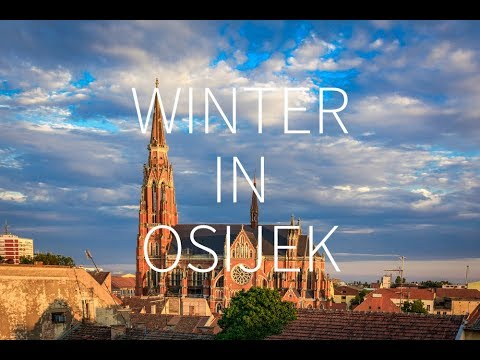Winter in Osijek — Croatia | DRONE FOOTAGE | Pointers Travel