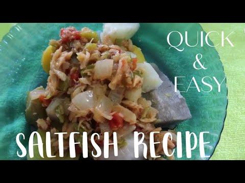 Saltfish Recipe