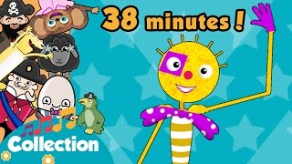 Toddler Songs with The Dingle Dangle Scarecrow and over 20 more nur...