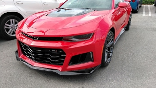 New 2017 Camaro ZL1 LOUD Start Up!!!