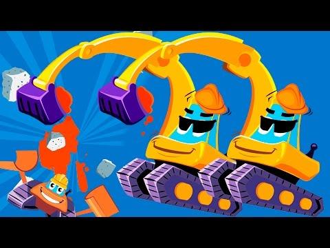 Мультики про машинки для детей - Рабочие машины!