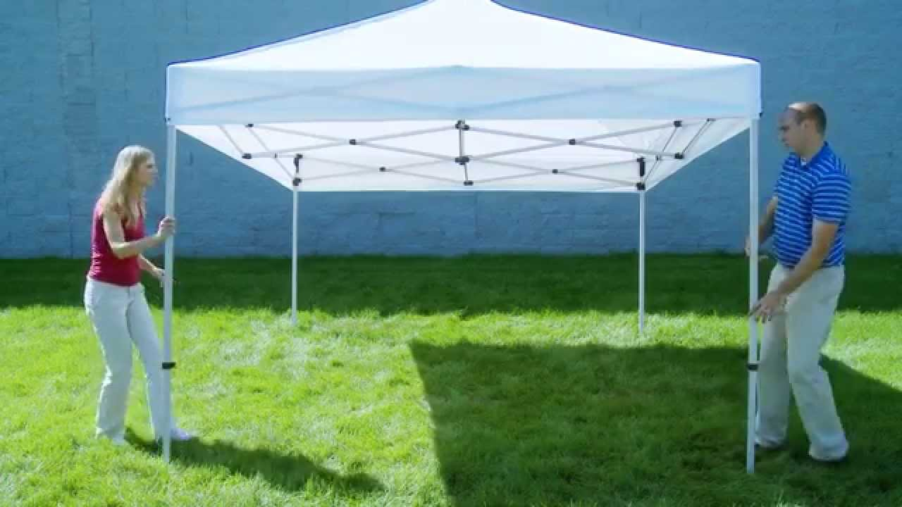 ShowStopper Deluxe Tent with Vented Canopy & ShowStopper Deluxe Tent with Vented Canopy - YouTube