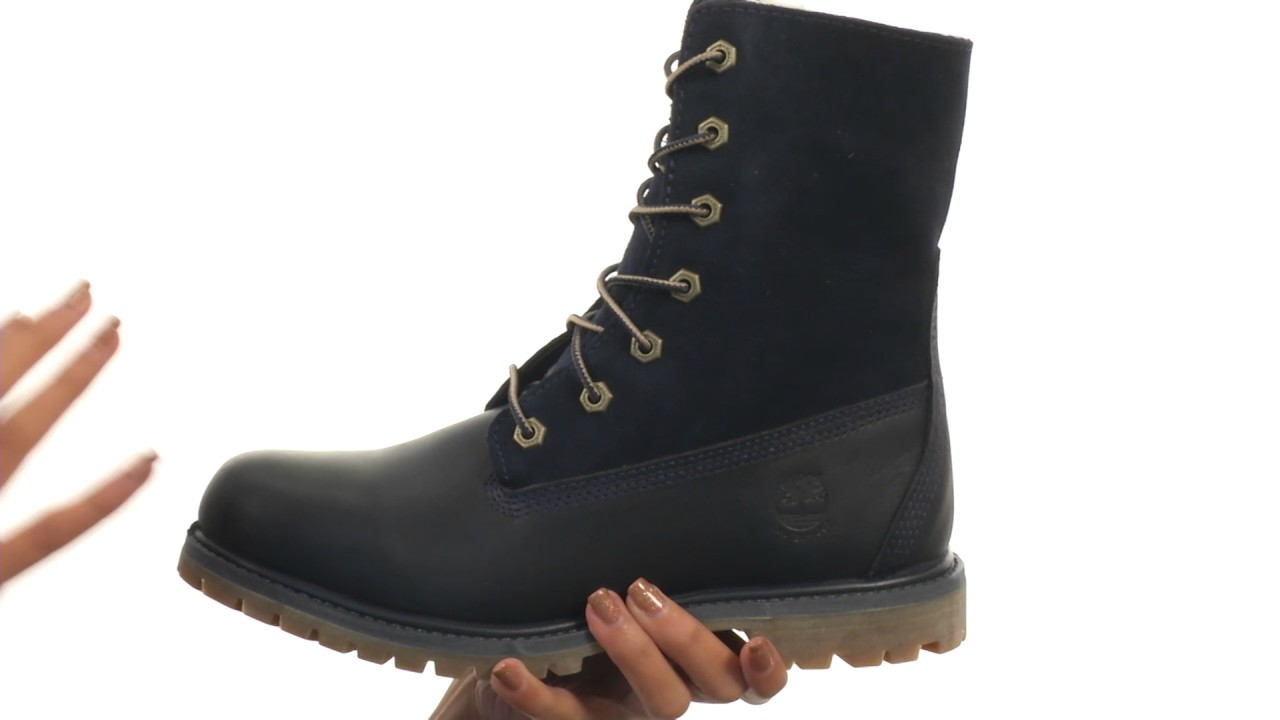 Timberland Authentics Teddy Fleece Waterproof Fold-Down Boot uL8a15vcF