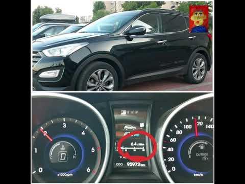 Hyundai Santa fe 2.2 CRDI расход топлива