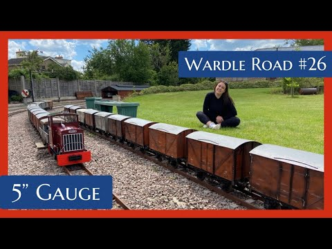 "The BIGGEST *private* 5"" Gauge railway in the UK!"