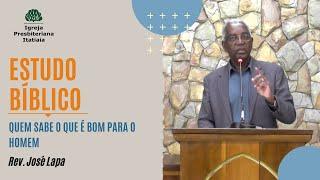Estudo Bíblico (16/07/2020) - Igreja Presbiteriana Itatiaia
