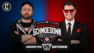 Marc Andreyko VS Ben Bateman - Movie Trivia Schmoedown