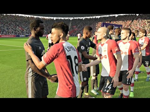 FIFA 18 | Manchester United vs Southampton Premier League Gameplay