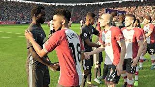FIFA 18 | Manchester United vs Southampton Premier League Gameplay