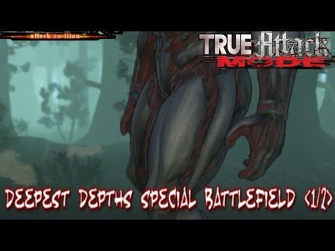 (PS4)Shingeki No Kyojin: True Attack Mode | Survey: Deepest Depths Special Battlefield (1/2)