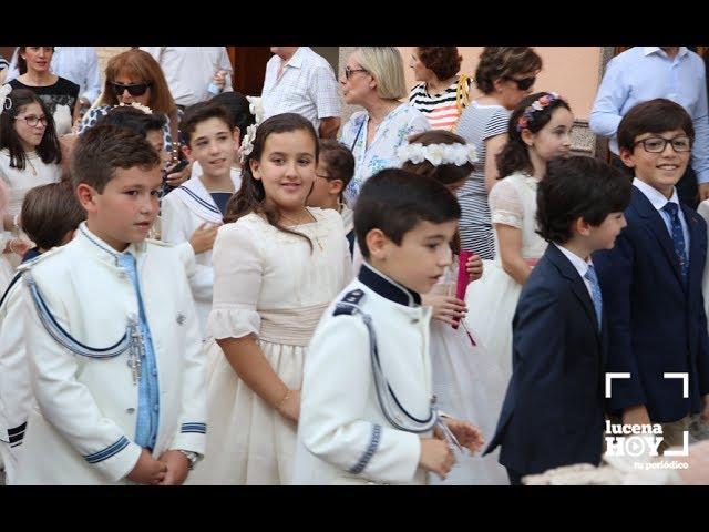 VÍDEO: Procesión del Corpus Christi en Lucena 2017