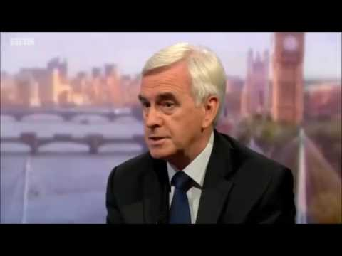 Extraordinary John McDonnell interview on #Marr