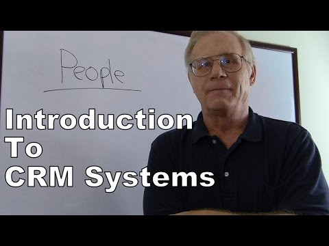 Introduction to CRM - Customer Relationship Management Syste