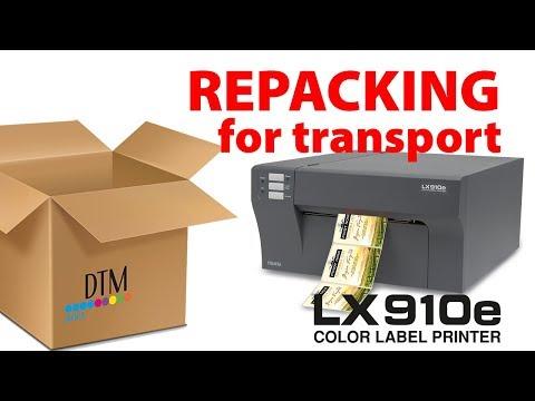 LX910e Colour Label Printer Support
