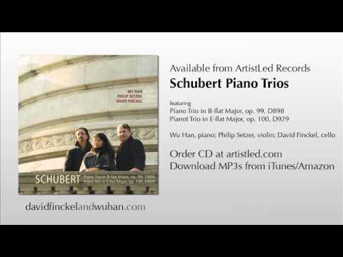 Schubert: Piano Trio No.1 in Bb, D.898, Op.99: III. Scherzo; Wu Han, Philip Setzer, David Finckel