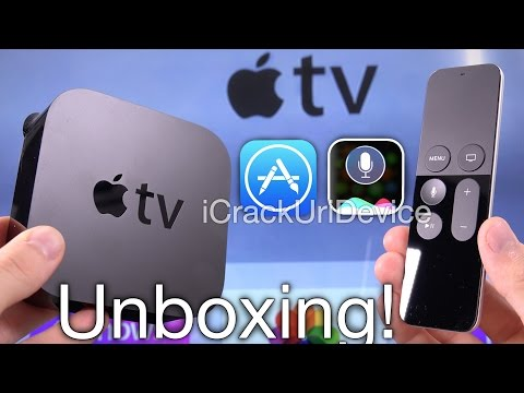 New Apple TV 4 Siri (4th Gen): Unboxing and Review 2015