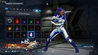 Tekken 7 (PS4) - Master Raven Full Character Customization (All Unlocked)