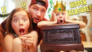 WE FOUND A REAL TREASURE CHEST IN OUR ATTIC!!
