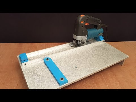 How to make a Jigsaw Cutting Station