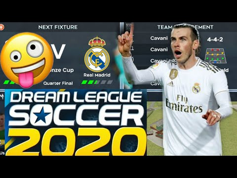 How To Make Real Madrid Team Kits & Logo 2019/2020 | Dream League Soccer 2019.