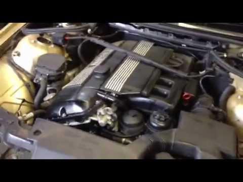 Работа двигателя БМВ е46 купе, М 52 ТУ 2,5!